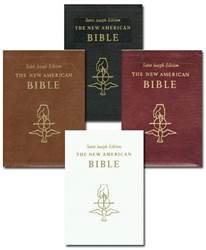 New American Bible- Deluxe Gift Edition (Full Size- Large Type)