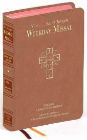 ST. JOSEPH WEEKDAY MISSAL LARGE TYPE VOLUME I ADVENT TO PENTECOST