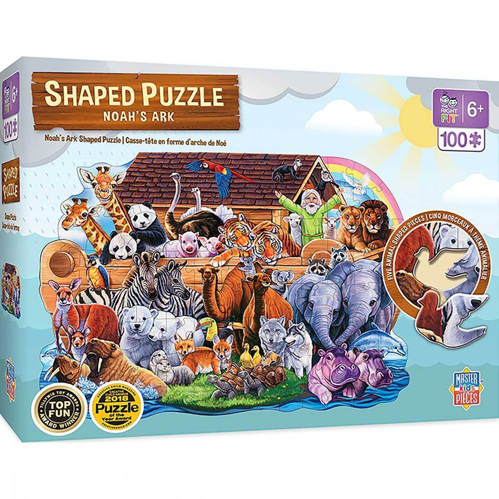 Noah's Ark 100 pc Jigsaw Puzzle