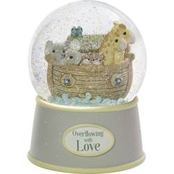 Noahs Ark Overflowing with Love Snow Globe