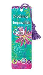 Nothing is Impossible with God Bookmark