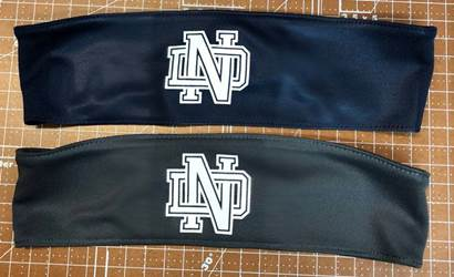 Notre Dame H.S. Performance Headband