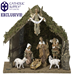 OUR EXCLUSIVE! Fontanini 7 Piece Nativity Set with Stable *SIGNED BY EMANUELE FONTANINI*