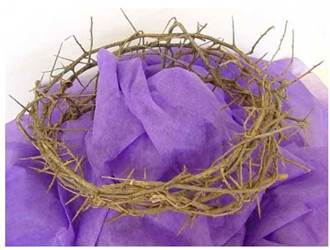 Crown Of Thorns: Life size for Passion Plays (11-12 inches in diameter)