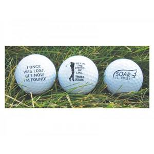 Once Lost Golf Ball Set/3
