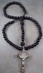 Original Paracord Rosary, Black