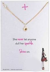 Original Sparkle Necklace, Gold