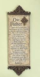 Our Father Resin Wall Plaque
