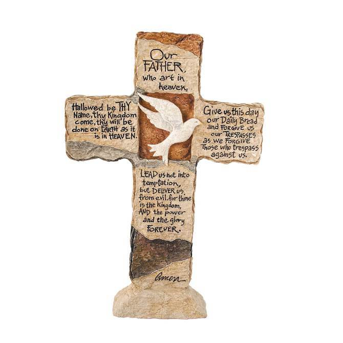 Our Father Standing Cross