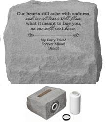 Our Hearts Still Ache Personalized Cremation Urn