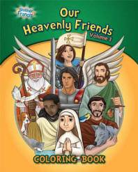 Our Heavenly Friends Vol 1 Coloring and Activity Book