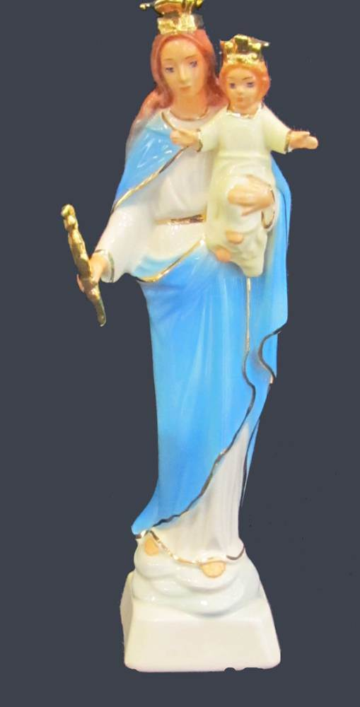 Our Lady, Help of Christians Ceramic Statue