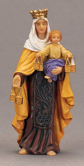 Our Lady Mt Carmel Statue