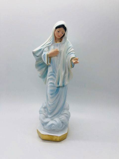 "Our Lady Of Medjugorie 8"" Statue from Italy"