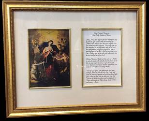 Our Lady Undoer Of Knots Frame