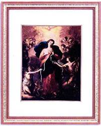 Our Lady Undoer Of Knots Framed Picture
