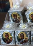 Our Lady of Czestochowa Cube Candle