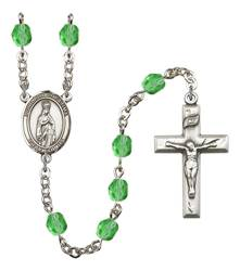 Our Lady of Fatima Patron Saint Rosary, Square Crucifix