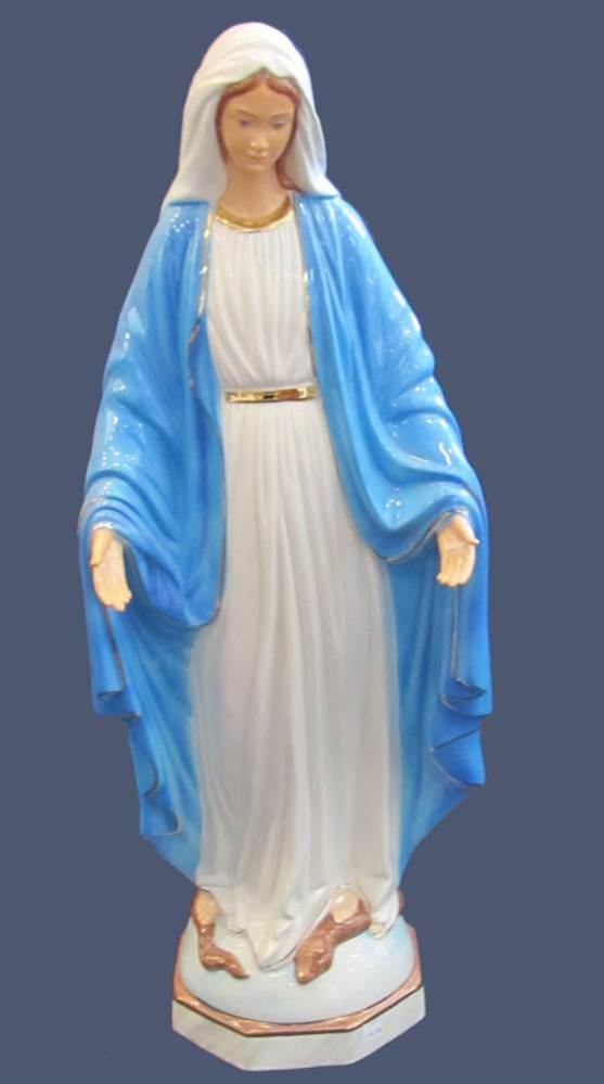 Our Lady of Grace Ceramic Statue