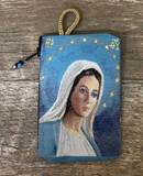 Our Lady of Grace Rosary Pouch from Turkey