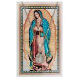 Our Lady of Guadalupe Pewter Medal and Prayer Card Set