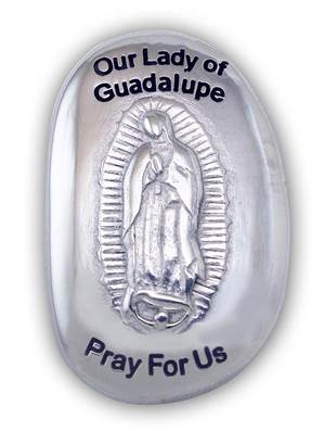 Our Lady of Guadalupe Thumb Stone