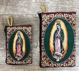 Our Lady of Guadalupe Woven Pouch from Turkey