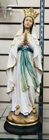 "Our Lady of Lourdes 12"" Statue from Italy"