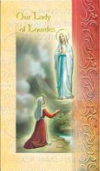 Our Lady of Lourdes Biography Card