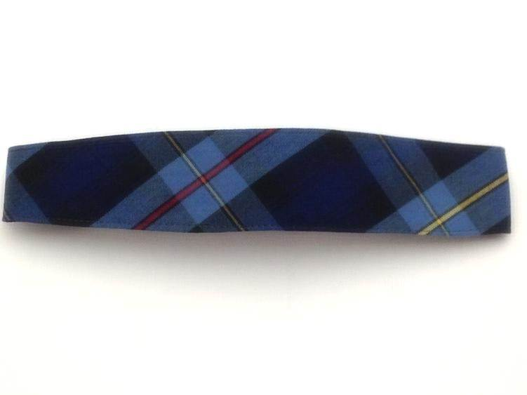 #41 Plaid Elastic Headband