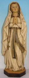"12"" Our Lady of Lourdes Statue Heaven's Majesty *WHILE SUPPLIES LAST*"