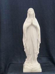Our Lady of Lourdes Statue 16""