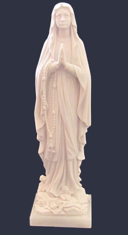 Our Lady of Lourdes Statue 10""