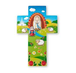 Our Lady of Lourdes Wall Cross