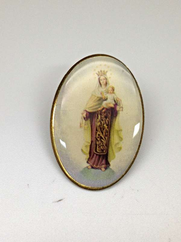 Our Lady of Mount Carmel Lapel Pin/24PKG