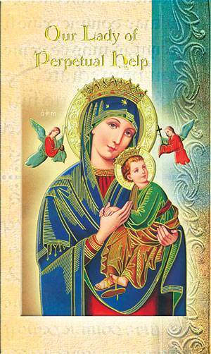 Our Lady of Perpetual Help Biography Card