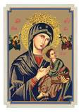 Our Lady of Perpetual Help Mass Card, Box of 100