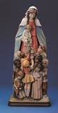 Our Lady with the Children of the World Statue