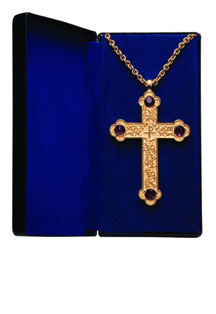 PC-500G Pectoral Cross on Chain