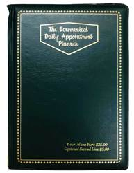 PERSONALIZED Cover for Deluxe Ecumenical Planner