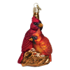 Pair of Cardinals Glass Ornament