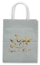 Peace on Earth Metallic Gift Bag