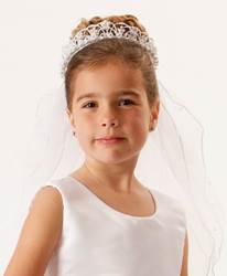 Pearl Tiara Veil *WHILE SUPPLIES LAST*