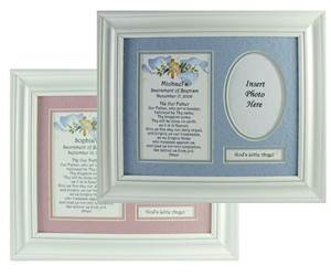 Personalized Baptism Prayer Frame *FREE SHIPPING*