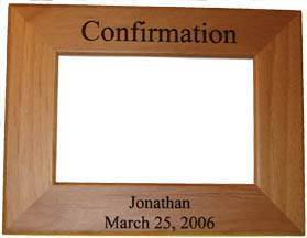 Personalized Confirmation Frame