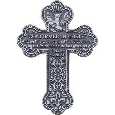 Pewter Confirmation Wall Cross