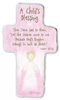 Pink Childs Blessing Cross