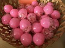Pink Cord Rosary in Mini Plastic Easter Egg