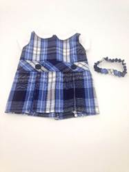 "18"" Drop Waist Doll Uniform, Pick Your Plaid american girl uniform, american girl school uniform, 18"" doll school uniform, american girl plaid jumper, american girl plaid uniform, american girl doll dress, american girl clothes, american girl school clothes, american girl school uniforms, american girl doll dresses, american girl plaid dresses, sjf"
