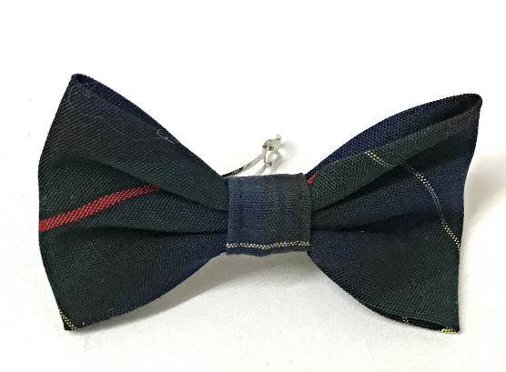 Plaid #55 Small Clip Bow